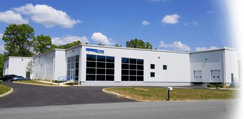Carbon-Core Corp manufacturing and engineering facility in Troy, Virginia