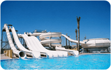 Spheretex Mat IP Application in Waterslides